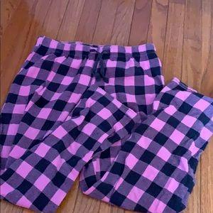 Women's flannel pajama pants